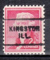 USA Precancel Vorausentwertung Preo, Locals Illinois, Kingston 703 - Vereinigte Staaten