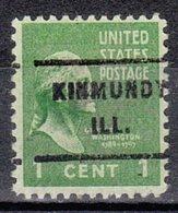 USA Precancel Vorausentwertung Preo, Locals Illinois, Kinmundy 717 - Vereinigte Staaten