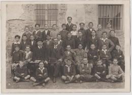 SCOLARESCHE - LOCALITà IGNOTA - FOTO ORIGINALE (50119) - Persone Identificate