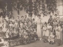 ASILO INFANTILE - LOCALITà IGNOTA - FOTO ORIGINALE (50119) - Persone Identificate
