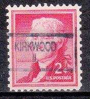 USA Precancel Vorausentwertung Preo, Locals Illinois, Kirkwood 904 - Vereinigte Staaten