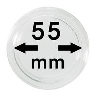 Lindner S22705500 Münzkapsel Innendurchmesser 55 Mm, 1 Stück, Innenhöhe 3,2 Mm - Supplies And Equipment