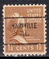 USA Precancel Vorausentwertung Preo, Locals Illinois, Knoxville 704 - Vereinigte Staaten