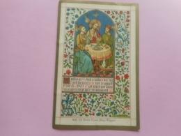 DEVOTIE-LITH.VANDE VYVERE PETYT -PREMIERE COMMUNION RAPHAEL DE SPOT FURNES 13-5-1897 - Godsdienst & Esoterisme