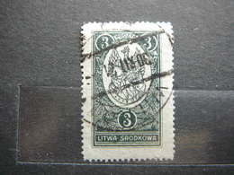 Central Lithuania Lietuva Litauen Lituanie Litouwen # 1921 Used # Mi. 36A Mittellitauen - Lituania