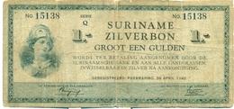 1 FLORIN 1942 - Surinam