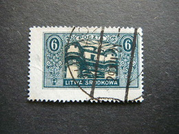 Central Lithuania Lietuva Litauen Lituanie Litouwen # 1921 Used # Mi. 39A Mittellitauen - Lithuania