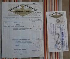 """Lot De 2 68 RIQUEWIHR Dopff """" CLOS DU MOULIN """" Vins D'Alsace - Francia"""