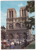Paris: CITROËN 2CV, DS, BREAK, RENAULT 4, FORD CORTINA '66, 2x PANORAMA AUTOBUS  - Notre-Dame - Toerisme