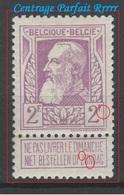 Belgique - 1905 - ** - COB 80 - 2F - Brrrrrrr  - CENTRAGE PARFAIT -  Valeur 1050 € - 1905 Grove Baard