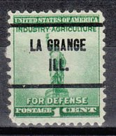 USA Precancel Vorausentwertung Preo, Locals Illinois, La Grande 257 - Vereinigte Staaten