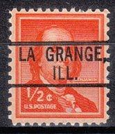 USA Precancel Vorausentwertung Preo, Locals Illinois, La Grande 802 - Vereinigte Staaten