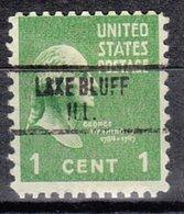 USA Precancel Vorausentwertung Preo, Locals Illinois, Lake Bluff 734 - Vereinigte Staaten