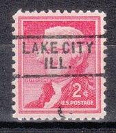USA Precancel Vorausentwertung Preo, Locals Illinois, Lake City 729 - Vereinigte Staaten