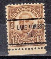 USA Precancel Vorausentwertung Preo, Locals Illinois, Lake Forest 684-713 - Vereinigte Staaten
