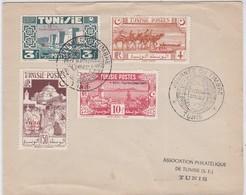 LSC - JOURNEE Du TIMBRE TUNIS / 11.3.1950 - Tunisie (1888-1955)