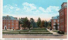 Chapel Hill - Quadrangle Dormitories , B.C.D.E , University Of N.C - Chapel Hill