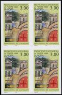 ANDORRE Poste ** - 476, Bloc De 4 Non Dentelé, (non Répertorié): Europa 1996 - Briefmarken