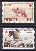 1956 - ALGERIA - Yv.  Nr. 343/344 - NH - (UP131.41) - Algeria (1962-...)