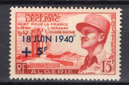 1956 - ALGERIA - Yv.  Nr. 345 - NH - (UP131.41) - Algeria (1962-...)