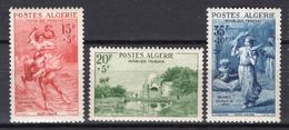 1956 - ALGERIA - Yv.  Nr. 346/348 - NH - (UP131.41) - Algeria (1962-...)