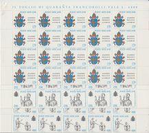 Vatican City 1979 Johannes Paulus II 3v Sheetlets (shtlts Are 1x Folded) ** Mnh (F7726) - Ongebruikt