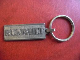 PORTE CLEFS METAL RENAULT AUTO AUTOMOBILE à TOURS CHAMBRAY (37) @ 4,3 Cm De Haut - Porte-clefs