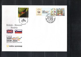 Slovenia / Slowenien 2000 London The Stamp Show - British - Slovene Society Interesting Cover Scarce - Slowenien