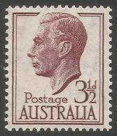 Australia. 1951-52 KGVI. 3½d MNH. SG 247 - Mint Stamps