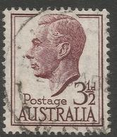Australia. 1951-52 KGVI. 3½d Used. SG 247 - Used Stamps