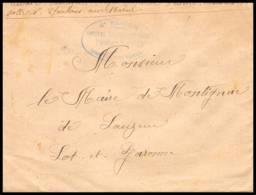 53092 Chalons Sur Marne Hopital Complementaire 19 6ème Rgion Sante Guerre 1914/1918 War Lettre Cover - Postmark Collection (Covers)