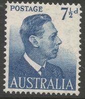 Australia. 1951-52 KGVI. 7½d MNH. SG 251 - Mint Stamps