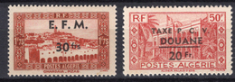 1944/47 - ALGERIA - Yv.  Nr. TELEGRAPHE 1/2 - NH - (UP131.41) - Algeria (1962-...)