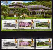 2007 Brunei 100 Jahre / 100 Years Of British High Residens In Brunei S/S And Stamps. MNH - Brunei (1984-...)