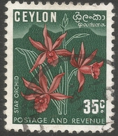 Ceylon. 1951-54 Definitives, 35c (Type II) Used. SG 423a - Sri Lanka (Ceylon) (1948-...)
