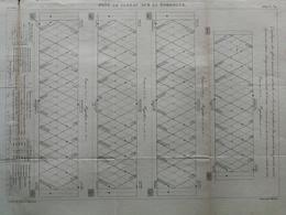 ANNALES PONTS Et CHAUSSEES (dep 24)  - Pont De Cubzac Sur La Dordogne - Macquet - 1889 - (CLE17) - Travaux Publics