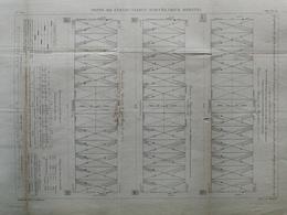 ANNALES PONTS Et CHAUSSEES (dep 24)  - Pont De Cubzac Viaduc Accès (rive Droite) - Macquet - 1889 - (CLE18) - Travaux Publics