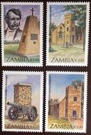 Zambia 1996 Monuments MNH - Zambia (1965-...)