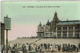 Ostende - Une Partie De La Digue Et La Plage - Oostende