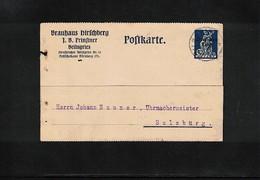 Germany / Deutschland 1920 Interesting Postcard - Briefe U. Dokumente