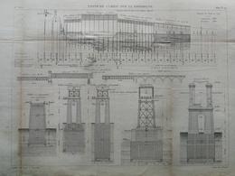ANNALES PONTS Et CHAUSSEES (dep 24)  - Pont De Cubzac Sur La Dordogne - Macquet - 1889 - (CLE20) - Travaux Publics
