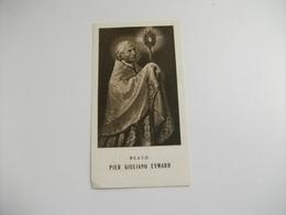 SANTINO HOLY PICTURE IMAGE SAINTE  PREGHIERA AL BEATO PIER GIULIANO EYMARD - Religione & Esoterismo