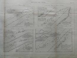 ANNALES PONTS Et CHAUSSEES - Prévisions Des Crues - Macquet - 1889 - (CLE21) - Travaux Publics