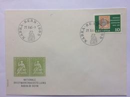 SWITZERLAND 1965 Nationale Breifmarkent Asustellung Bern FDC - Covers & Documents
