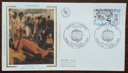 Andorre - FDC 1981 - YT N°292 - EUROPA / Le Folklore - FDC