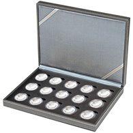 Lindner Coin Funda  NERA XM Para 15 Piezas Encapsuladas 10 € Coleccionista Monedas Alemania Con Anillo De Polímero, I - Supplies And Equipment