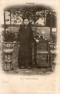 TONKIN - Femme Tonkinoise (cachet Paksane Laos Au Recto) - Viêt-Nam
