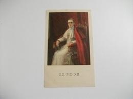 SANTINO HOLY PICTURE IMAGE SAINTE  S.S. PIO XII - Religione & Esoterismo