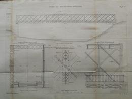 ANNALES PONTS Et CHAUSSEES (Dep 43) - Pont De Monistrol-D'allier - Macquet - 1889 - (CLE23) - Publieke Werken