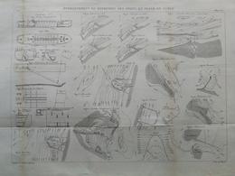 ANNALES PONTS Et CHAUSSEES - établissement Et Entretien Des Ports En Plage De Sable - Macquet - 1889 - (CLE24) - Travaux Publics